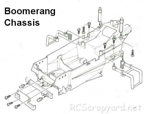 Tamiya Boomerang Bmr Chassis Rcscrapyard