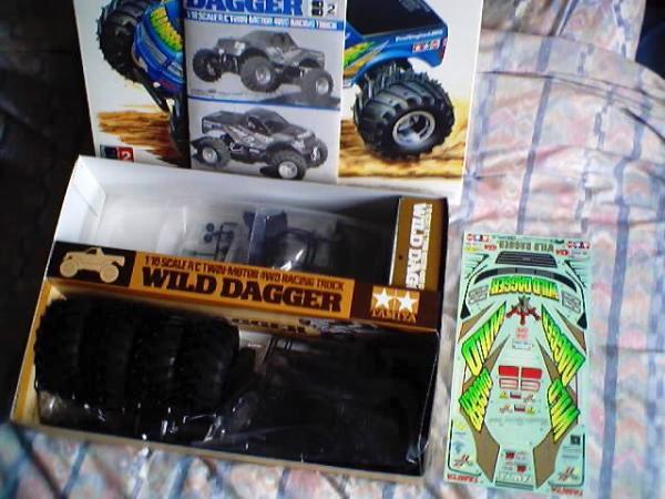 58231 Tamiya Wild Dagger Wr 01 Radio Controlled