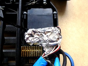 Aluminum Foil Around the Receiver