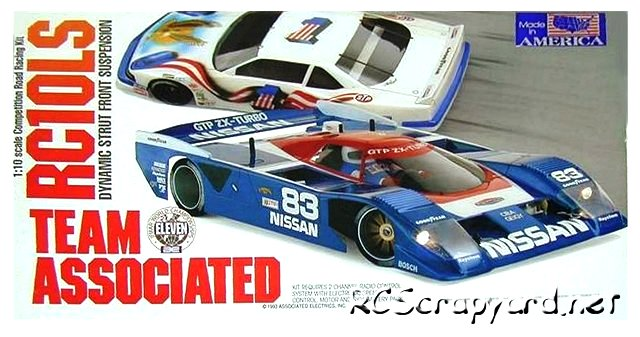 Team Associated RC10LS - 1:10 Electric RC Pan Car