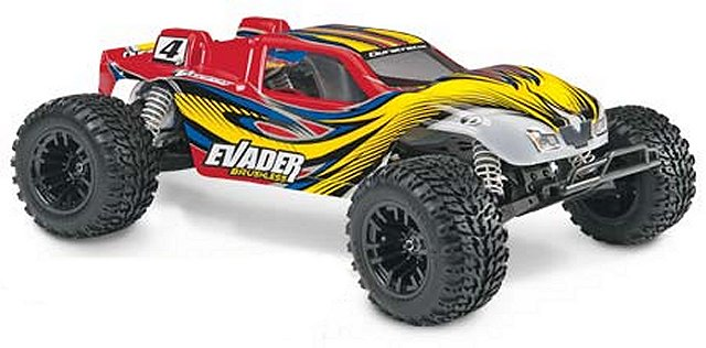 Duratrax Evader Brushless RTR - 1:10 Electric RC Truck
