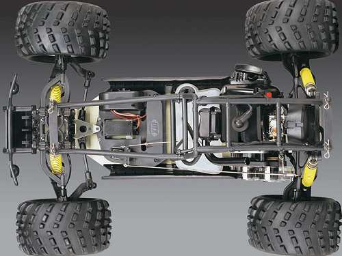 Duratrax Firehammer MT Chassis