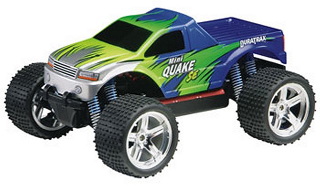 Duratrax Mini Quake SE - 1:18 Electric RC Monster Truck