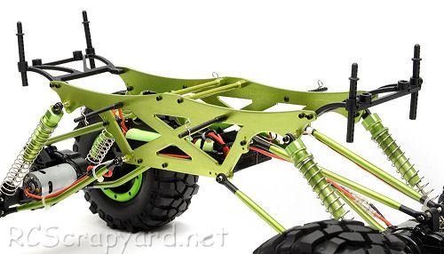 exceed maxstone 1 5 rock crawler • rcscrapyard radio controlled exceed rc maxstone5 rock crawler chassis ★
