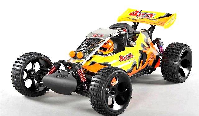 FG Baja WB 535 - 1:6 Nitro RC Buggy