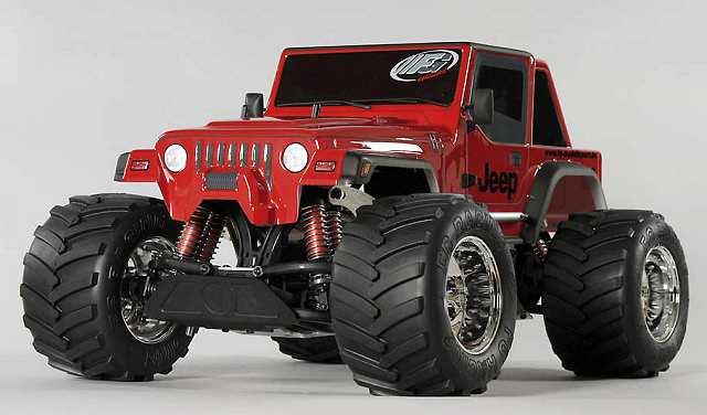 Types Of Jeeps >> FG Modellsport Monster Jeep 2WD - FG-12012 / FG-12012R ...
