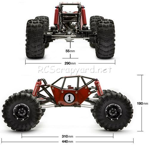 Gmade R1 Rock Buggy