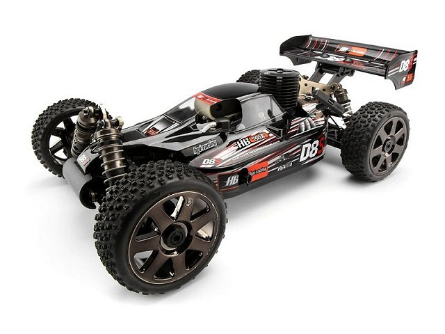 HPI D8S - 1:8 Nitro RC Buggy