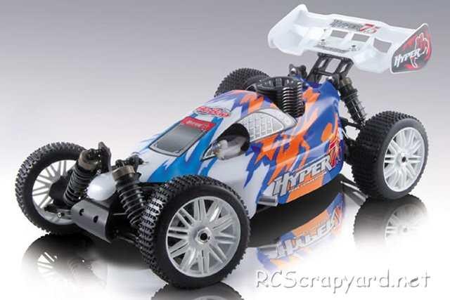 coche radio control acme racing: