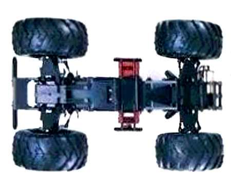 Kyosho Big Boss (The Boss) Chassis