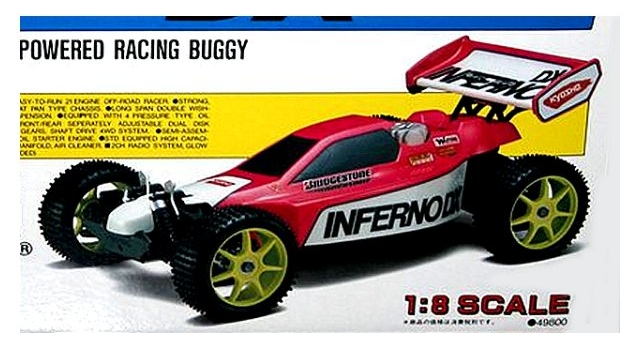 Kyosho Inferno DX - 1:8 Nitro RC Buggy