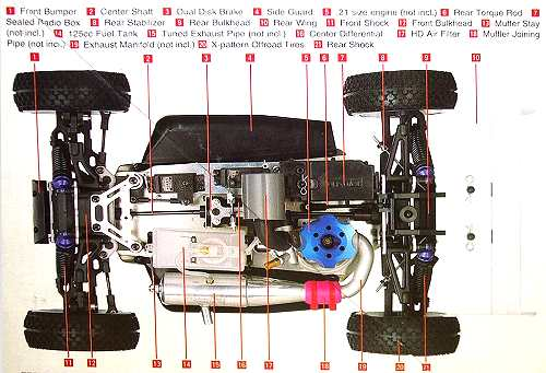 Kyosho Inferno MP5 Chassis