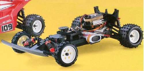 Kyosho Raider - 3184 Chassis