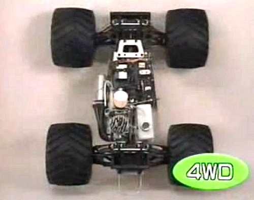 Kyosho USA-1 Nitro Crusher Chassis