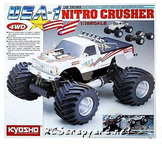 Kyosho USA-1 Nitro Crusher