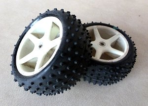 Mini Pin Tires