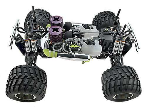 Ofna Titan Twin Monster Truck Chassis