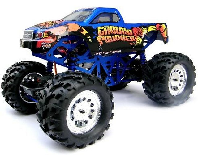 Redcat Racing Ground Pounder Radio Controlled Model