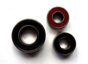 Rubber Shielded Bearings