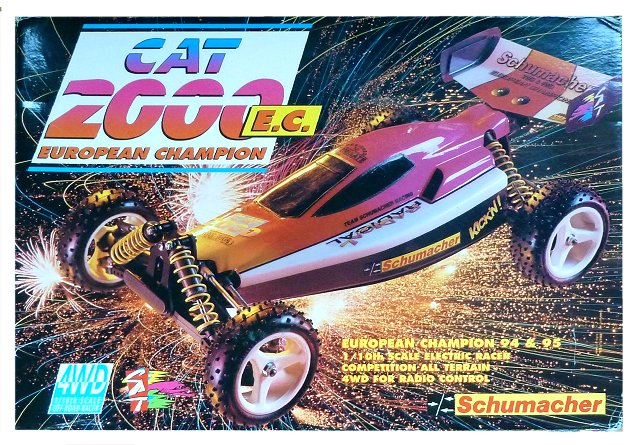 Schumacher Cat 2000 Ec U498y Radio Controlled Model