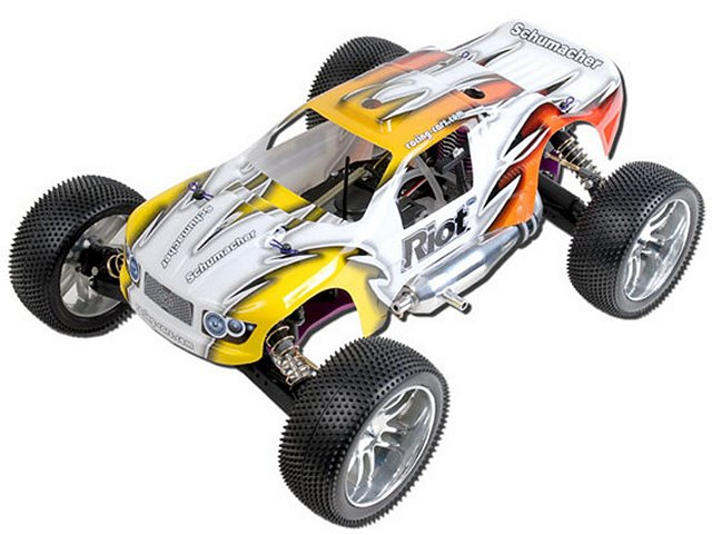 schumacher riot radio controlled model cars rcscrapyard. Black Bedroom Furniture Sets. Home Design Ideas