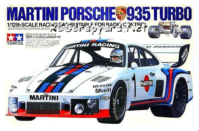 Tamiya Martini Porsche 935 Turbo #58002 • RCSyard - Radio ...