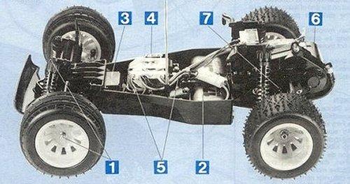 Tamiya Blitzer Beetle #58122 Chassis