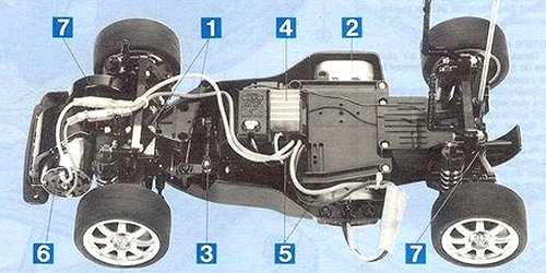 Tamiya Renault Clio Williams #58138 FF-01 SWB ...