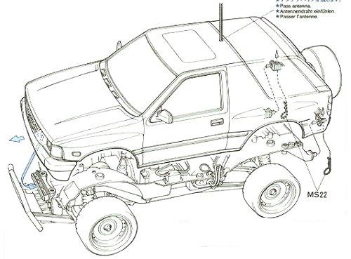 tamiya isuzu mu  58152 cc-01  u2022 rcscrapyard