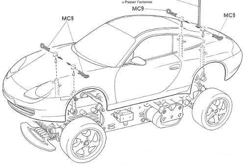 dirt track race car wiring diagram