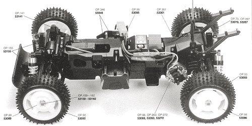 Tamiya Baja Champ #58221 TL01B Chassis