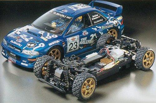 Audi Build Your Own >> Tamiya Subaru Impreza WRC Arai Version #58270 TB-01 ...