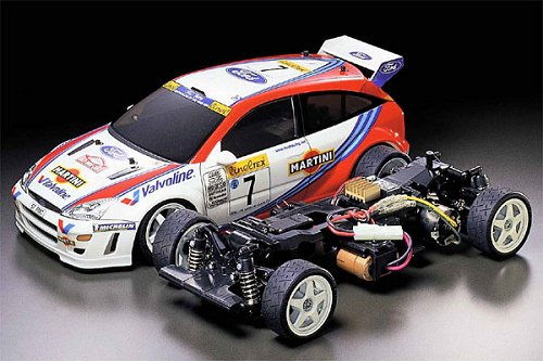 58292 Tamiya Ford Focus Rs Wrc 02 Tl 01 Radio