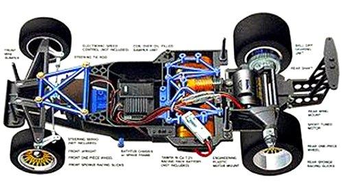 Tamiya Ferrari F40 #58356 Group-C Chassis