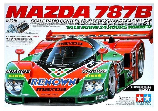 58357 Tamiya Mazda 787b Group C Rcscrapyard Radio