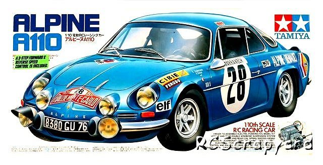 tamiya alpine a110 58168 m 02 rcscrapyard rc radiocommand s mod les. Black Bedroom Furniture Sets. Home Design Ideas
