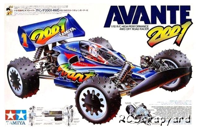 Tamiya Avante 2001 58085 Rcscrapyard Radio Controlled Model Cars