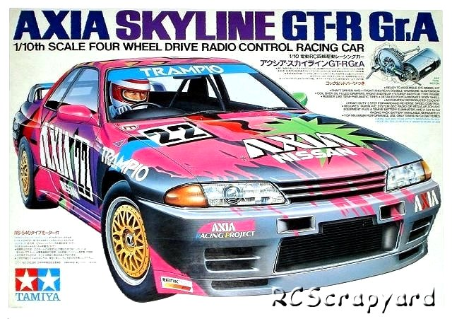 Tamiya Axia Skyline GT-R Gr,A - #58120 TA-01