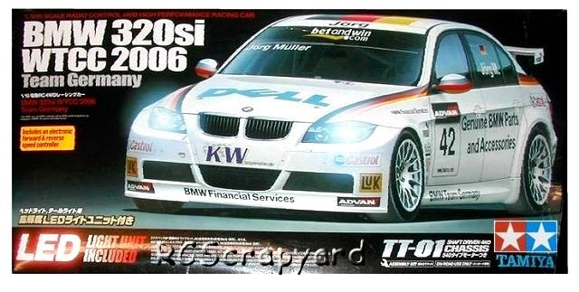 Tamiya BMW 320si WTCC 2006 #58385 TT-01 • RCScrapyard - RC ...