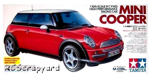 58295 u2022 tamiya bmw mini cooper u2022 m 03l u2022 rcscrapyard radio rh rcscrapyard net Tamiya Mini Cooper Grey Tamiya M05 Mini Cooper