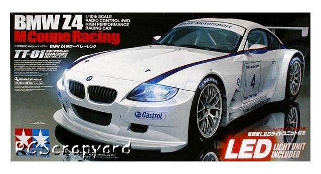 Tamiya BMW Z4 M Coupe Racing   #58393 TT01