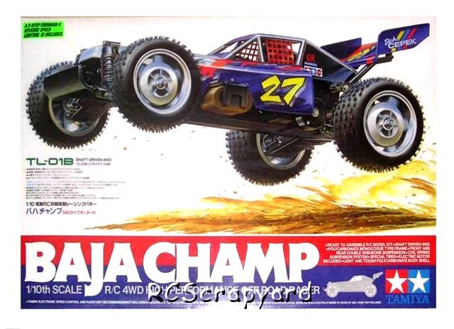 Tamiya Baja Champ - #58221 TL01B