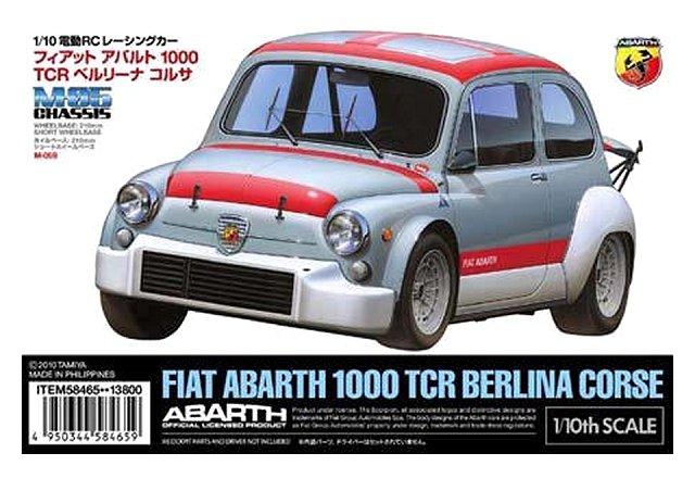 Tamiya Fiat Abarth 1000 Tcr Berlina Corse 58465 M 05