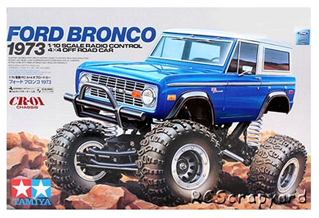 Tamiya Ford Bronco 1973 - #58436 CR01