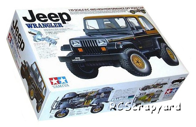 58141 tamiya jeep wrangler cc 01 radio controlled model archive rcscrapyard. Black Bedroom Furniture Sets. Home Design Ideas