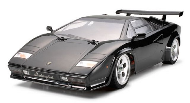 58413 Tamiya Lamborghini Countach Lp500s Tt 01e
