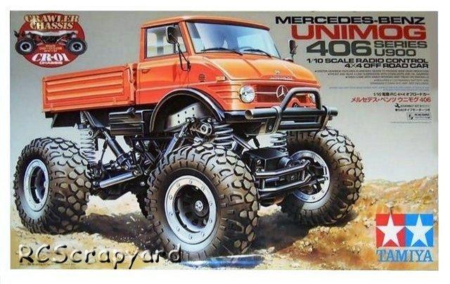 tamiya mercedes benz unimog 406 series u900 #58414 cr-01