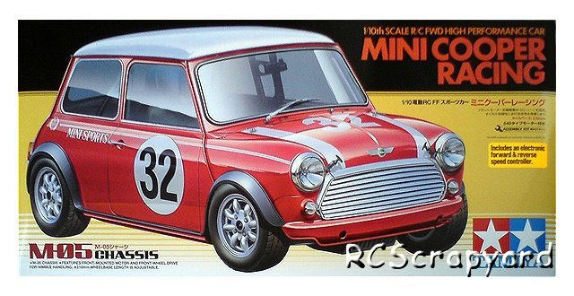 Tamiya Mini Cooper Racing 58438 M 05 Rcscrapyard