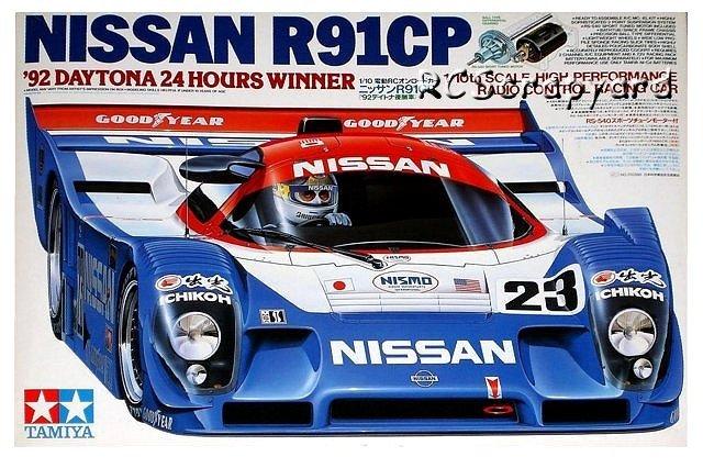 Tamiya Nissan R91CP - #58109 Group-C