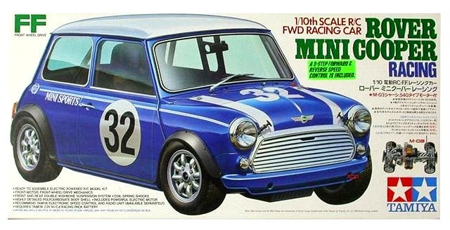 Tamiya Rover Mini Cooper Racing - #58211 M-03
